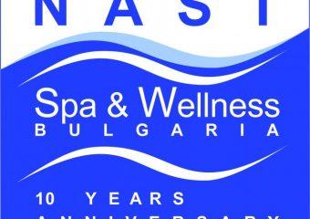 NAST 10 years annyversary logo