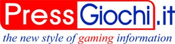 Press Giochi.it the new style of gaming information size 340 × 87